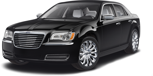 Premium Black Car Service - Chrysler-300C